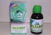 Малавит как средство от гипергидроза
