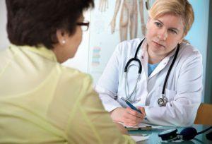 Осмотр и опрос больной с вегетососудистой дистонией
