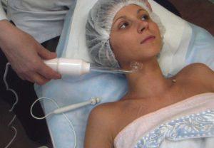 Дарсонваль - процедура для кожи шеи