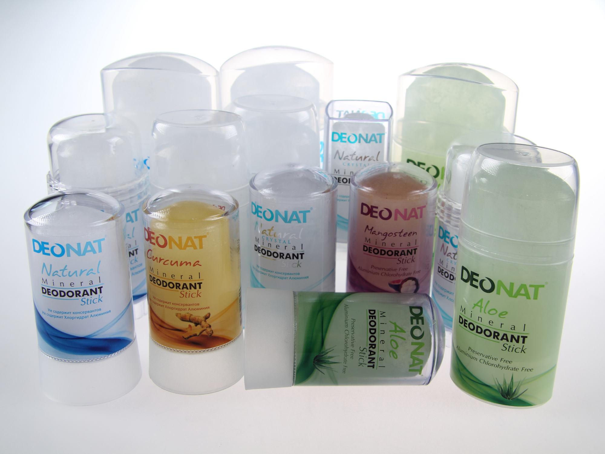 Природный дезодорант Deonat кристалл без химических добавок.