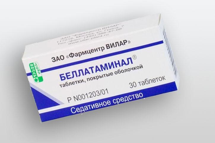 Препарат седативного действия Беллатаминал