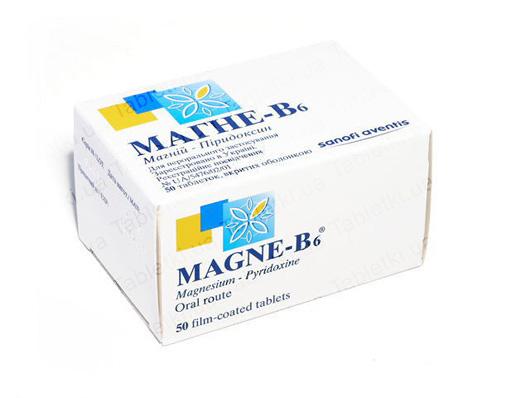 Лекарство Магне-В6