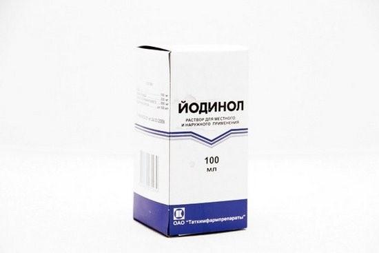 Йодинол — инструкция по применению от грибка, отзывы