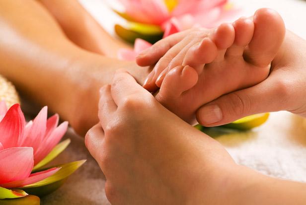 Различные методы массажа против повышенной потливости