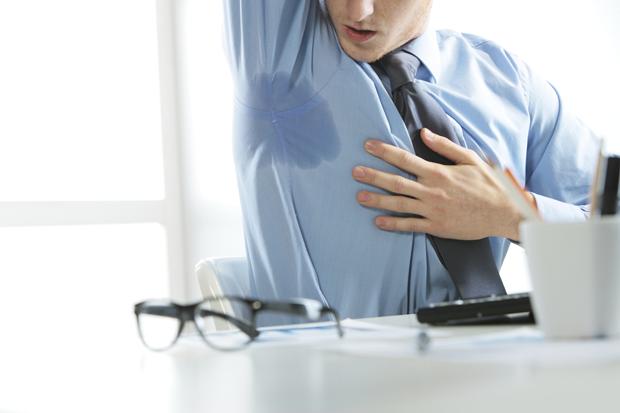 Гипергидроз на фоне стресса — как справиться с ситуацией?